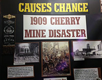 Clark Burch-Woodard Cherry Mine Exhibit